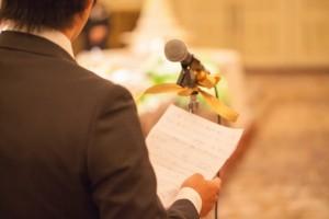 結婚式の友人代表スピーチのマナー