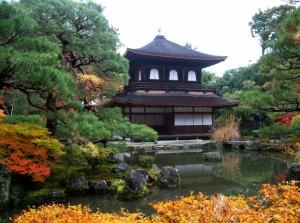 銀閣寺と哲学の道の紅葉