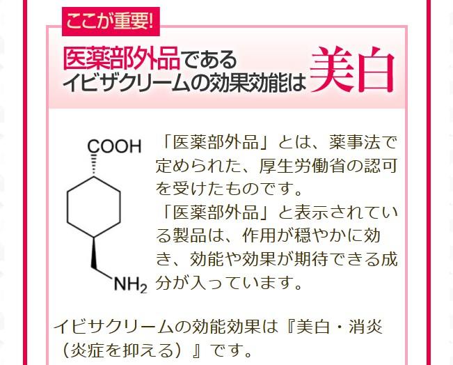 トラネキサム酸の効果
