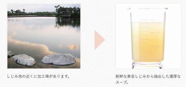 しじみ習慣の台湾採取場