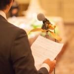結婚式の<span>友人代表スピーチ</span>のマナーは時間と構成、禁句に注意!
