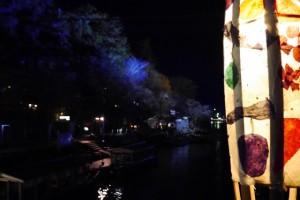 嵐山花灯路のデートコース