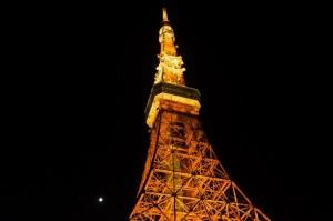 東京タワーのハロウィンイベント