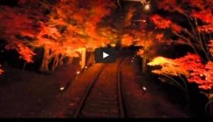 叡山電鉄ライトアップ
