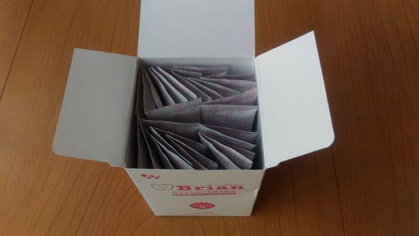 ブリアン歯磨き粉は㉚袋に分包